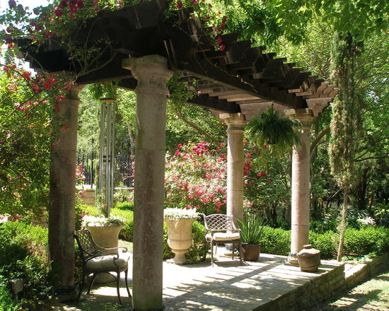 Pergola column home design ideas pictures remodel and decor for Pergola images houzz