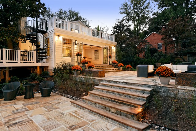 Sunroom Addition in Bethesda, MD traditional-patio