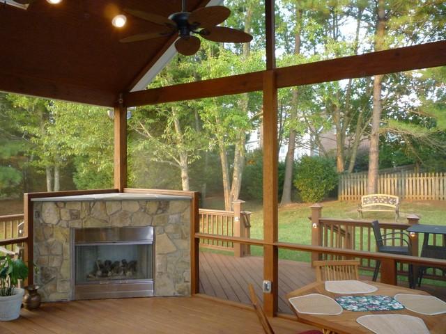 Sunroom/Deck/Patio Traditional Patio