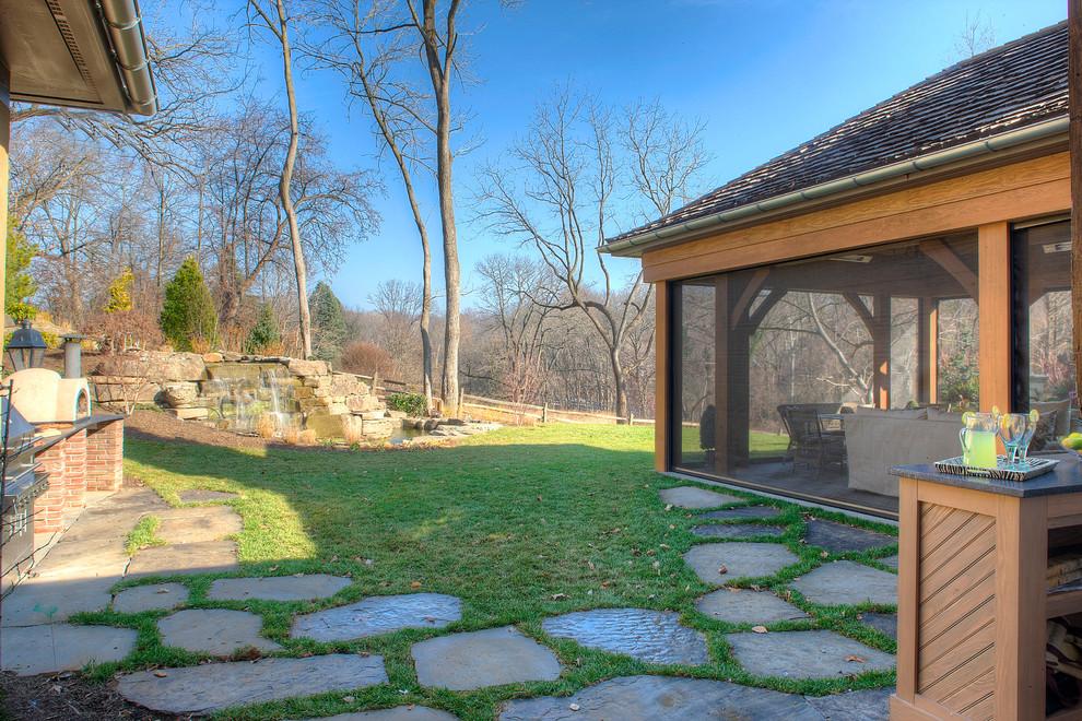 Example of a cottage patio design in Philadelphia