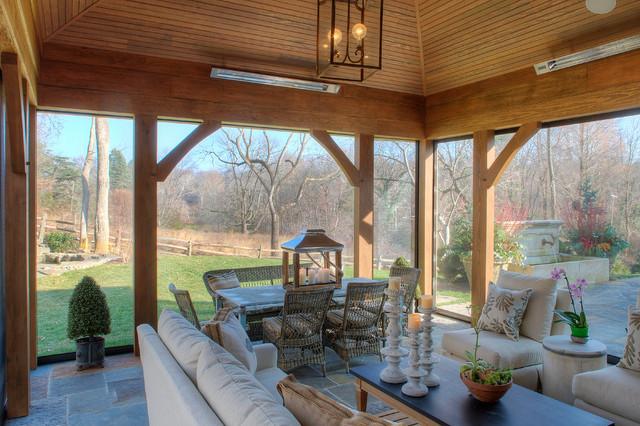 Sunroom transitional-patio