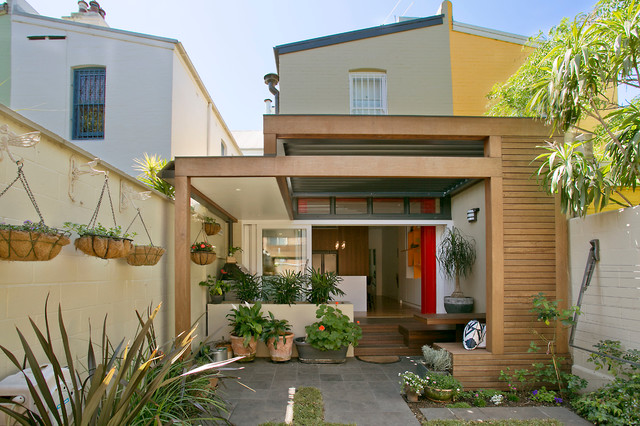 Surry Hills Terrace House Contemporary Patio Sydney