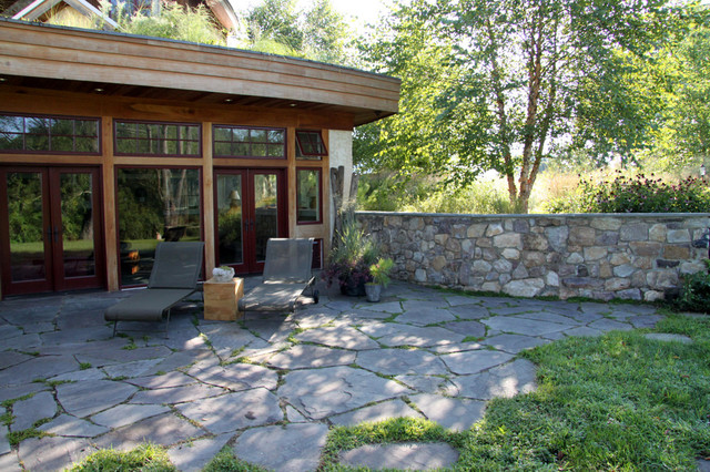 Sustainable house rustic patio philadelphia by for Jonathan alderson landscape architects