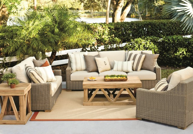 Enjoyable Sutton Collection Outdoor Dining Contemporary Patio Inzonedesignstudio Interior Chair Design Inzonedesignstudiocom