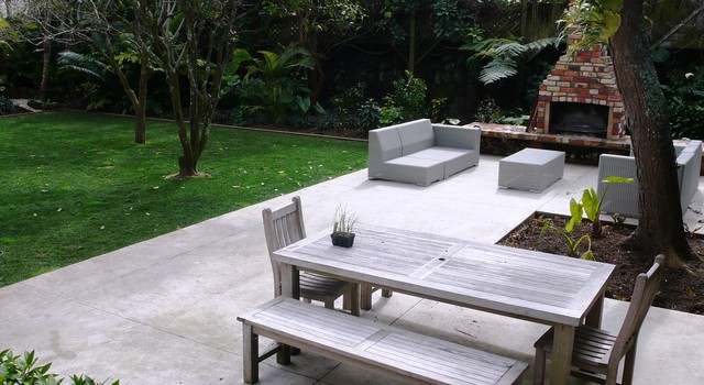 modern concrete patio. Takarunga Project Contemporary-patio Modern Concrete Patio T