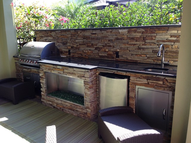 Tampa Fl Contemporary Patio Tampa By Outdoor Kitchen Pool Pavers
