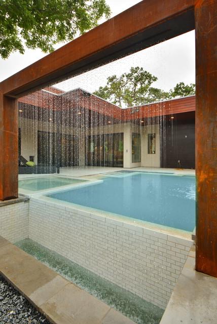 Tarrytown modern modern patio austin by danze for Danze e davis architects