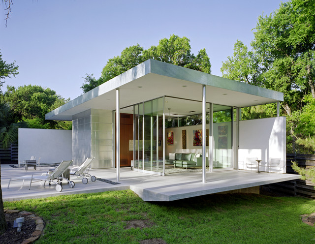 tarrytown pavilion modern pool austin by