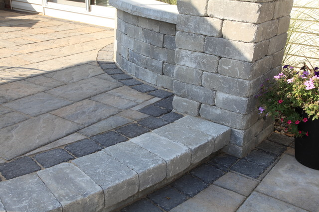 Techo Bloc Paver Patio Modern Patio Cleveland By