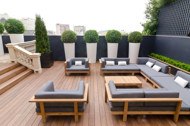 Terrace by Sean Weatherill contemporary-patio