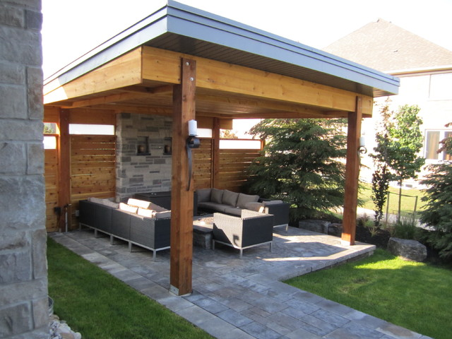 Terracewood Drive Deer Ridge Kitchener Contemporary-patio