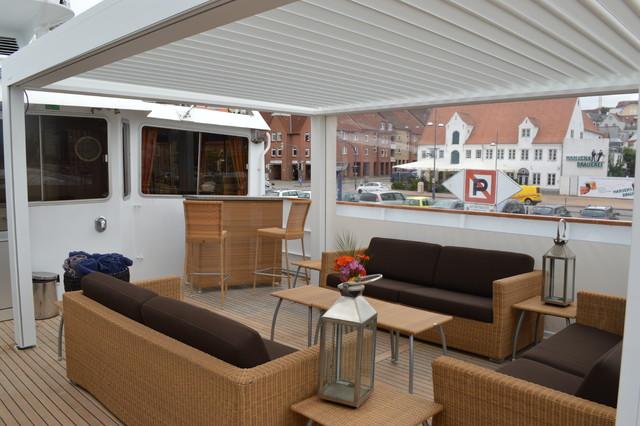 terrassen berdachung cubus von zangenberg modern patio. Black Bedroom Furniture Sets. Home Design Ideas