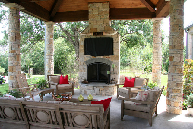 Texas Hill Country Veranda