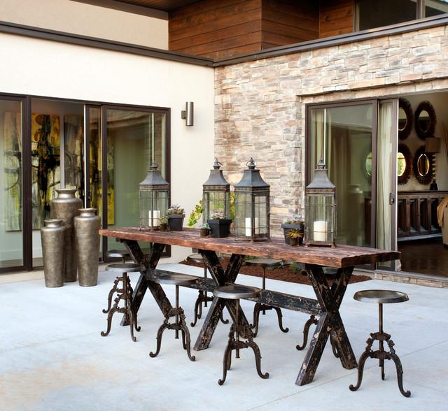 The Amita Collection rustic-patio