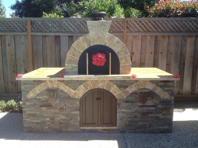 The Conetto Family Natural Gas Powered Brick Pizza Oven In