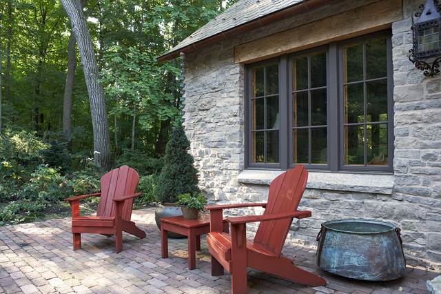 The Gatehouse Rustic Patio Minneapolis By Murphy