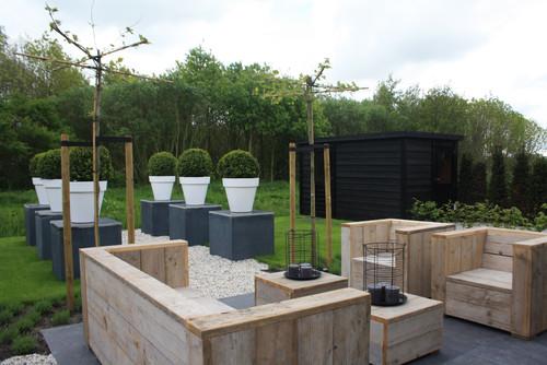 Meble Ogrodowe Z Palet Inspiracje :  to sam Meble do ogrodu z drewnianych palet – pomysły i inspiracje