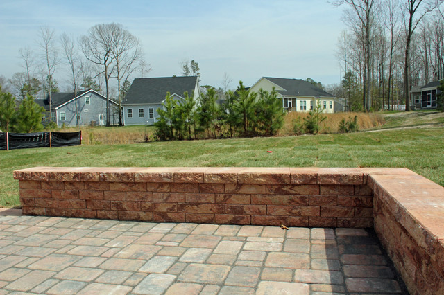 The Jackson, A Cornerstone Collection plan by Capstone Homes traditional-patio