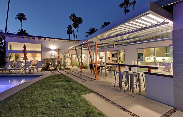 The Jerry Lewis House - Midcentury - other metro - by Moderne Builders