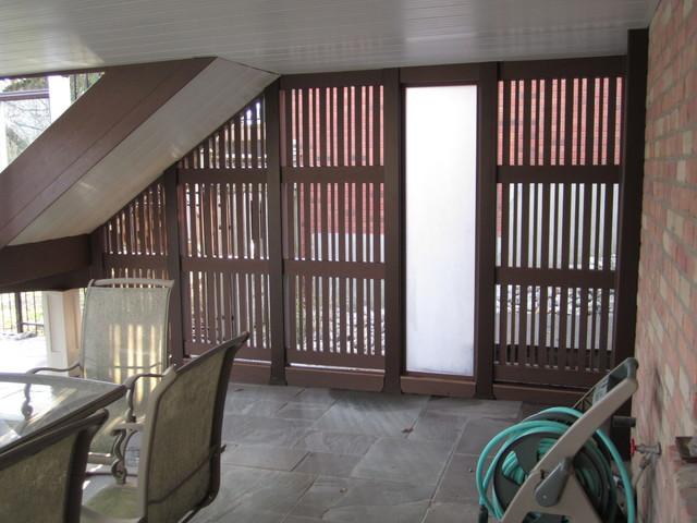 The Krajcar Deck traditional-patio