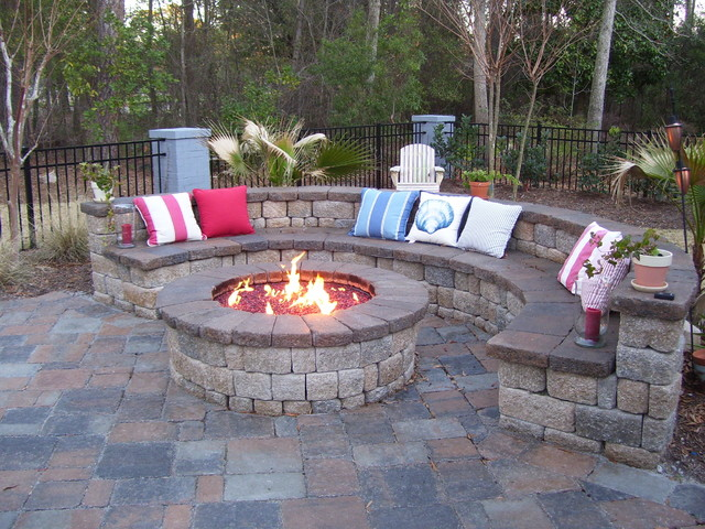 the lady likes it RED . . . - Traditional - Patio - Other - by ...