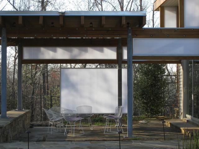 The Lantern Pavilion Porch modern-patio