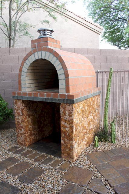 The Louis Family Wood Fired Brick Pizza Oven in California ...