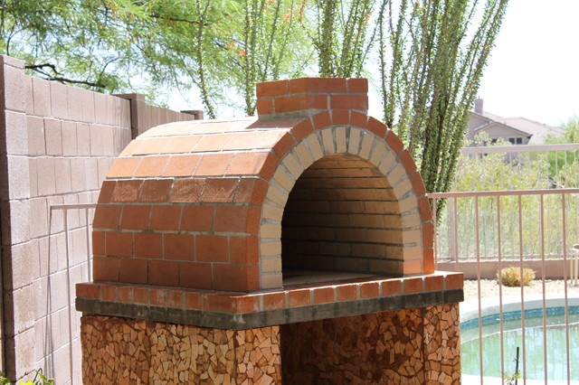 The Louis Family Wood Fired Brick Pizza Oven In California | BrickWood Ovens  Traditional Patio