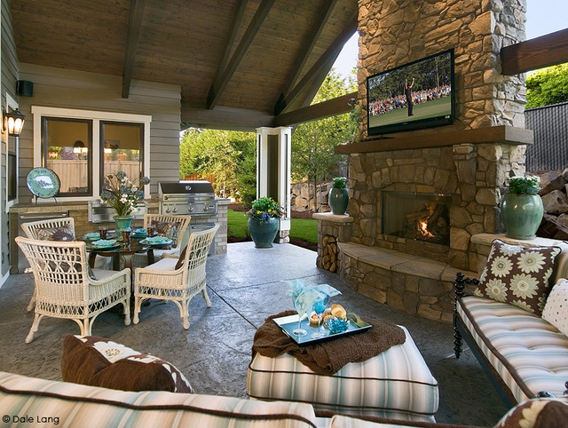 The Paula Deen Nw Street Of Dreams Home Traditional Patio