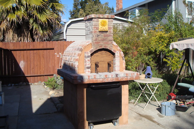 Beautiful The Perini Family Wood Fired Pizza Oven In California Traditional Patio