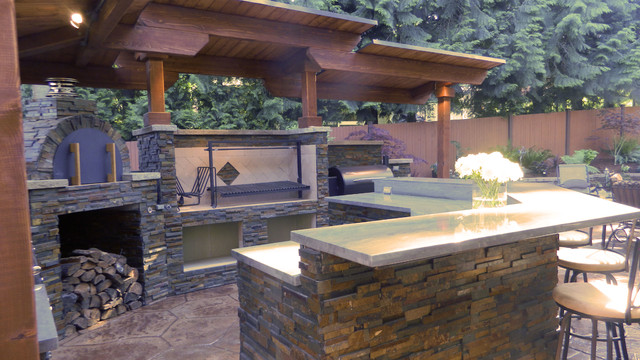 The Salas Family Wood Fired Brick Pizza Oven In Washington
