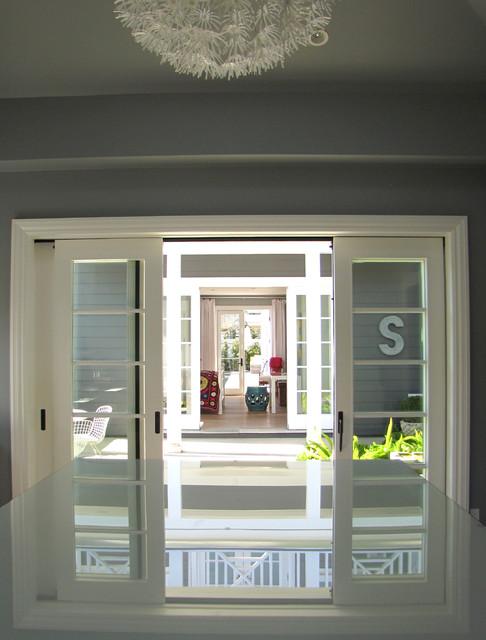 The Sandberg Home beach-style-patio