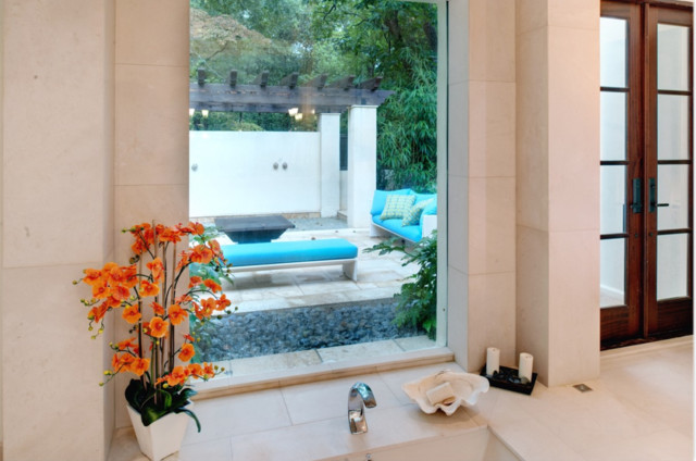 The Twelve Oaks Group contemporary-patio
