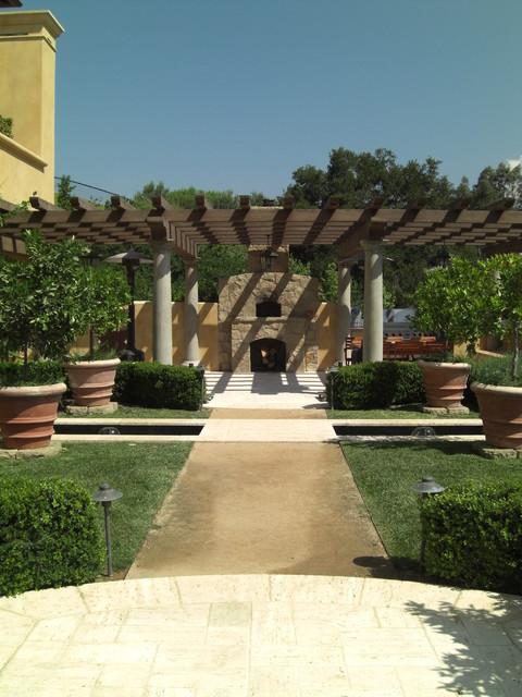 The Villa at the Ojai Valley Inn mediterranean-patio