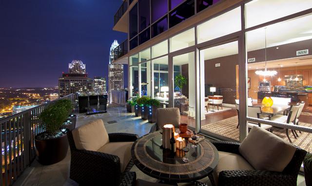 The Vue Loft contemporary-patio