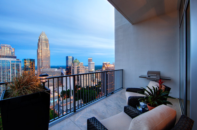 The Vue Loft - Contemporary - Patio - Charlotte - by Jim ...