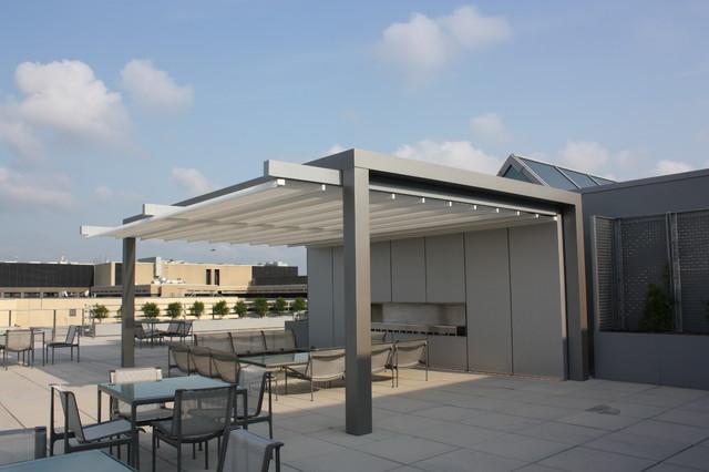 The Warner Building - Pennsylvania Avenue - Washington, DC modern-patio