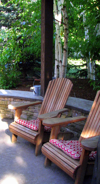 The Woods at Riverside Village Residence traditional-patio