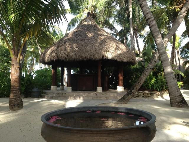 TIki Hut Bar tropical-patio