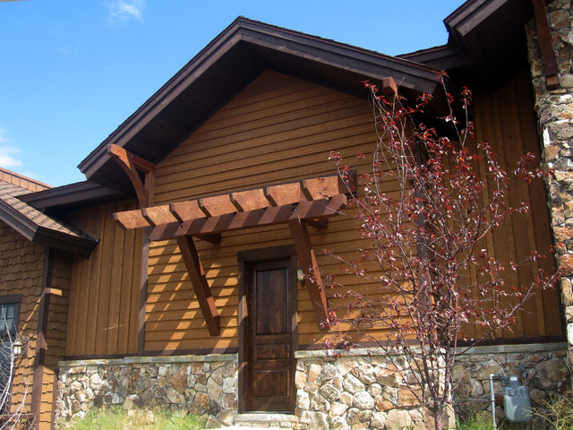 Timber Frame Accents Exterior Salt Lake City By