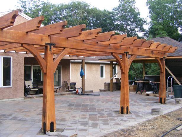 Timber Framed Structures Arbors Trellises Pergolas