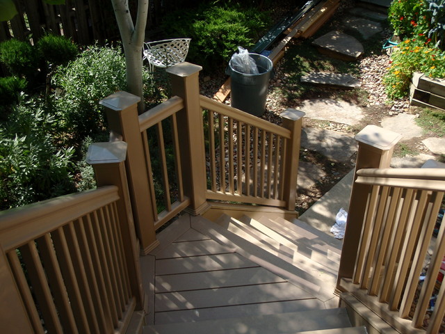 Timber Tech Deck traditional-patio