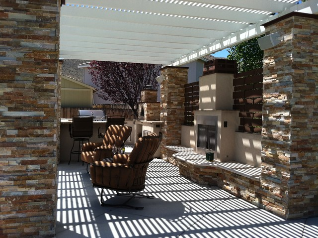 Time for a Party contemporary-patio