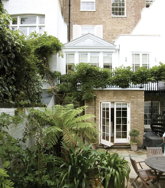 Townhouse Conservatory Traditional Patio Other By