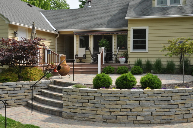 Traditional Deck Patio Traditional Patio Other by Bayer