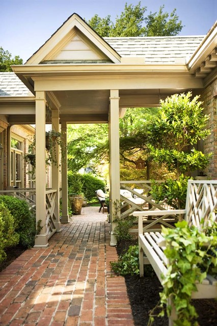 Traditional Exterior traditional-patio