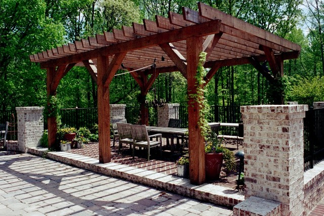 Traditional French Country traditional-patio