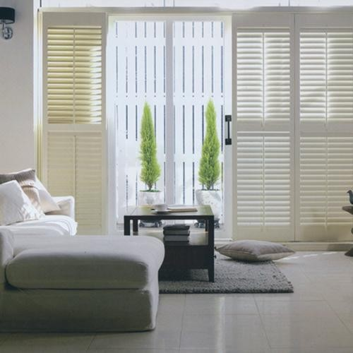 Norman Premium Wood Plantation Shutters From Traditional Patio By