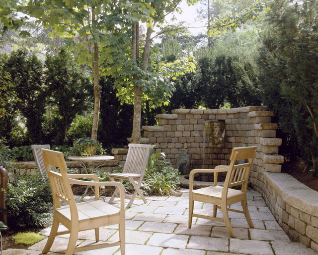 Conard Romano Architects traditional patio