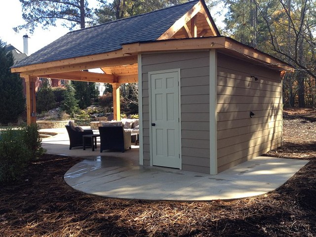 Cabana Projects Outdoor Living Spac - Traditional - Patio ... on Cabana Designs Ideas id=82692